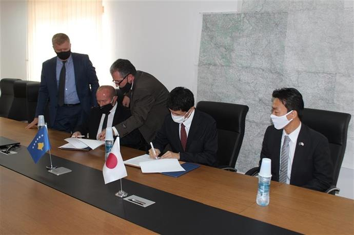 The General Director of the Emergency Management Agency signed a cooperation agreement with the Japanese JICA.